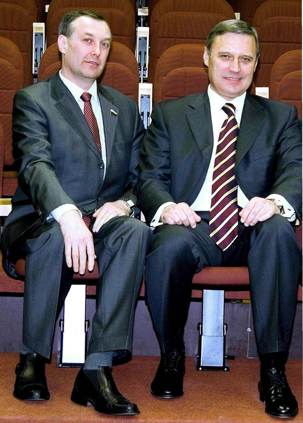 Витаутас Лопата и Михаил Касьянов